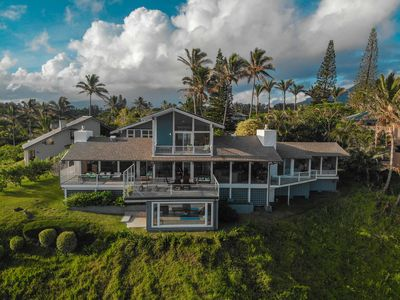 Photo for AMAZING!!! Oceanfront Home and Panaoramic Coastline View in Princeville Kauai!!