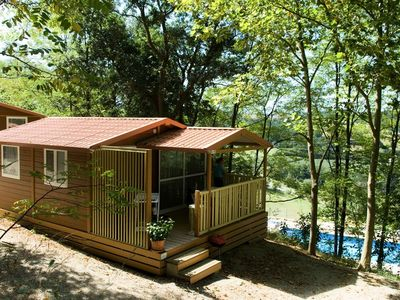 Photo for Camping Le Bourdieu *** - 3 Rooms Chalet 5 People
