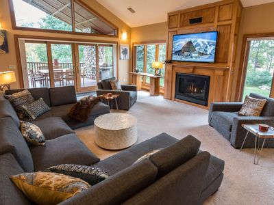 Photo for Majestic Vista Chalet | Private Indoor Pool | Gourmet Kitchen | Huge Views | Sleeps 20!