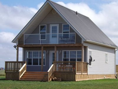 Photo for NEWLY CONSTRUCTED HILLTOP COTTAGE WITH A VIEW!!