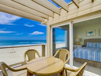 Photo for Spacious Ocean Front Condo With Amazing Views With Private Balcony