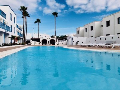 Photo for Apartment Bellissima with pool, Wifi & Sat-tv just 200m from the Ocean