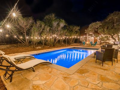 Photo for ATX Hideaway | Jacuzzi l Firepit l Sleep 14