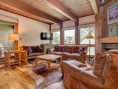 Photo for Perfect Corner Home Steps from the Gondola, Trails & Restaurants w/ Pool & 5HTs