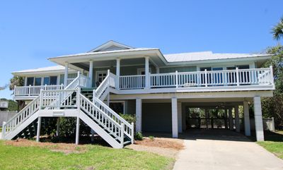 Photo for 796 Marlin Drive is a second row house with ocean views and lots of fun features! Starting with a large front porch, this open floor plan has everything you could want.
