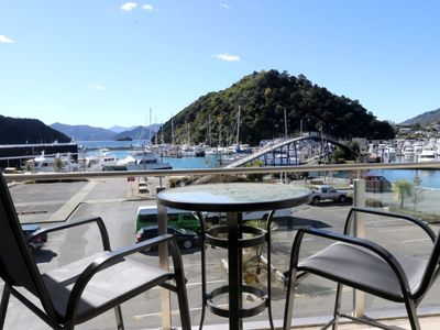 Photo for Luxury Waterfront 1 Bedroom Dockside Apartment