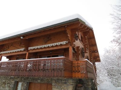 Photo for Large chalet 3 ***, sleeps 16, 270 km ski area SAMOENS-FLAINE-MORILLON