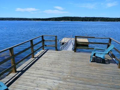 Photo for Ocean's Edge Cottage w/beautiful views of midcoast Maine for 2.