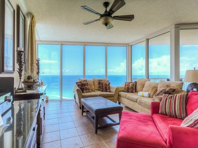 Photo for Nautical getaway just steps from the beach w/ shared pool & hot tub