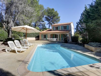 Photo for villa of charm, a haven of peace under the umbrella pines, 15 minutes of the sea