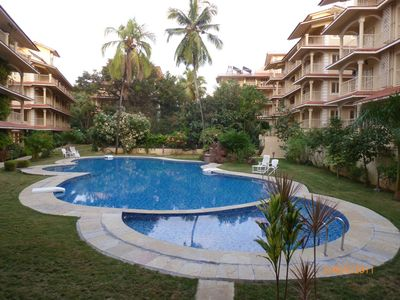 Photo for Apartment is situated in a gated modern complex in Arpora, north Goa.