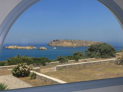 Photo for Luxury Seaside Villa in Santa Maria Paros  - Villa Oceanic