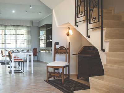 Photo for Terraced villa on two levels