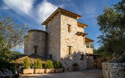 Photo for Rose Tower Luxury stone tower villa in the middle of nature with stunning view