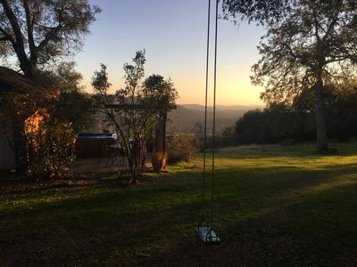 Photo for The Vineyard House ~ Gorgeous Home & VIEW! Private, Spa, PingPong,  great 4 kids
