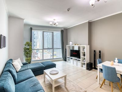 Photo for ★ Bright and Spacious Apartment in Dubai Marina