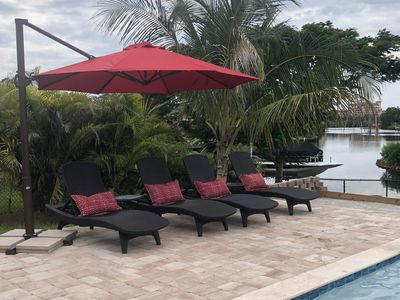 Photo for Waterfront Home near Siesta Key with a pool