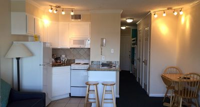 Photo for Beachfront Suite - Beautiful Sunset Views - Full Kitchen - Super Clean