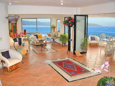 The Living Room Is Elegant, Spacious And Opens Onto The Terraza............