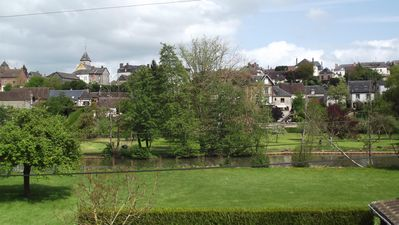 Great view on the village and it's river 'la Risle'