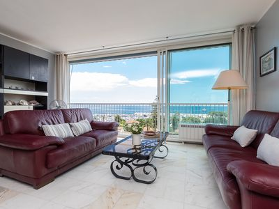 Photo for NICE 2 ROOMS 63 m2 MAGNIFICENT SEA -WI FI - 7 MN ON FOOT STATION. COMM.
