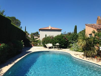 Photo for Villa on the heights of Cogolin in the Gulf of St Tropez