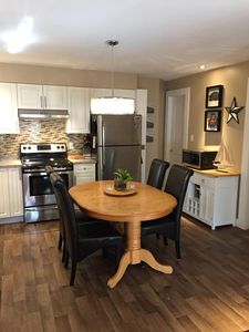 Stainless appliances, smooth top stove