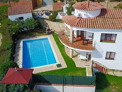 Photo for Club Villamar - Cosy villa with big private pool, beautiful view over the sea, internet for free,...