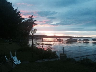 Photo for Chautauqua Lakefront Cottage with Boat Dock and Spectacular Views