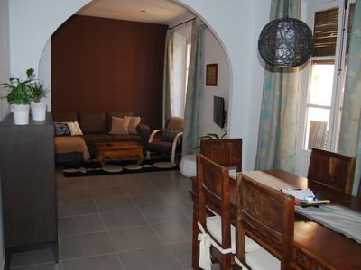 Photo for Comfortable and central apartment, ideal for families or groups of friends