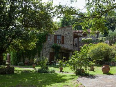 Photo for wonderful accommodations in an absolutely quiet location and with a huge garden