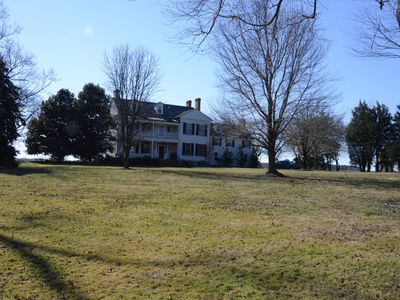 Photo for Classic Eastern Shore Waterfront Manor House