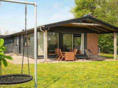 Photo for Beautiful Holiday Home near Bjert with roofed terrace