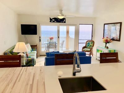Photo for A Must See!  Beautifully renovated with direct ocean view.  1 Bedroom, 1 Bath.