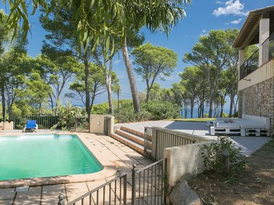 Photo for 6 bedroom villa in Begur sea views close to the beach and  (Ref:H40)