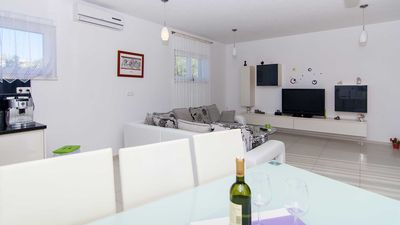Photo for Modern seaview 3 bedroom apartment Lilla II. with shared pool EOS-CROATIA