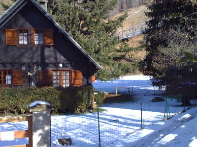 Photo for Beautiful chalet with mountain view