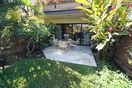 The back lanai is very private. There are no walkways or traffic behind our unit
