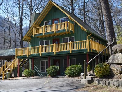 Photo for Beautiful Chalet Close To Chimney Rock State Park And Lake Lure