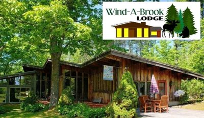 Photo for **Wind-A-Brook Lodge**   Rustic,  Country  Contemporary and  Well Appointed!