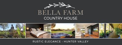 Photo for Bella Farm Country House - Outdoor Jacuzzi (5 Mins Drive to Centre of Pokolbin)