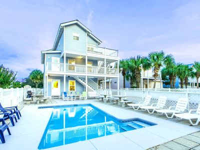 Photo for 6BR ☀Beach House of Stress Relief☀ Private POOL ☀ OPEN July 23 to 25! Walk2Beach