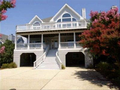 Photo for Luxurious 6 BR Oceanside Home, Private Beach, North Bethany