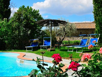 Photo for Private Peaceful Panoramic Pool Paradise-Rustic 7km to Cortona Spectacular Views