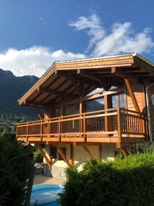 Photo for Well located self contained detached chalet on edge of Chamonix town centre