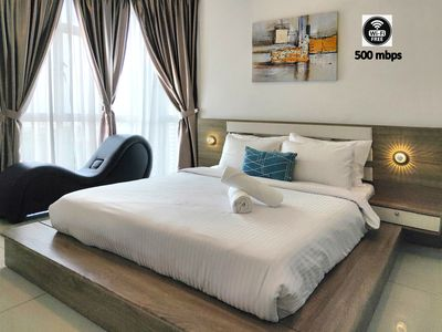Photo for 2 mins ride to R&F Mall & CIQ [High-floor Seaview]