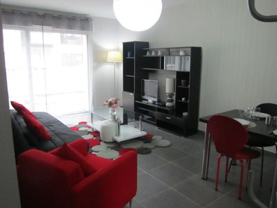 Photo for APARTMENT calm and bright, WIFI, located in small market town of seaside