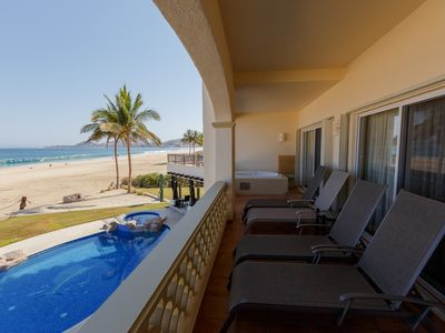 Photo for LM BB2-Gorgeous Two Bedroom Unit a Few Steps From the Ocean.