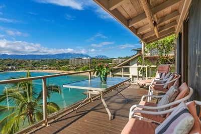Your views from your private lanai!
