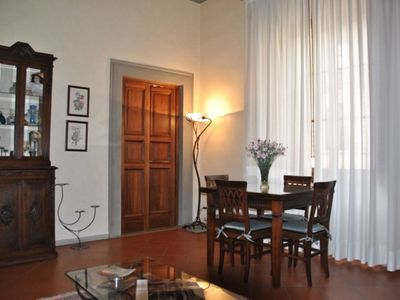 Photo for Della Pellicceria apartment in Duomo with WiFi, integrated air conditioning (hot / cold) & lift.